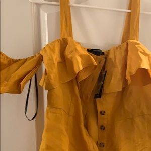 Romper/dress overalls